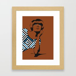 Graphic Mod Framed Art Print
