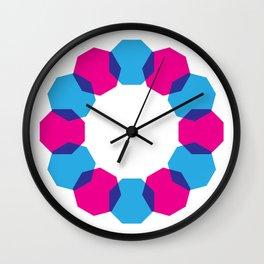 Octo Trio Wall Clock
