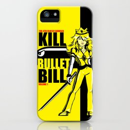 Kill Bullet Bill iPhone Case