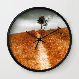 On The Way Wall Clock