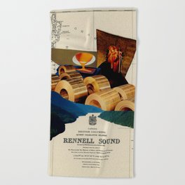 Rennell Sound Beach Towel