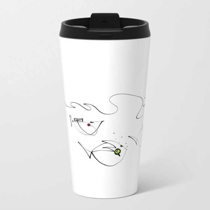 design 13 Metal Travel Mug
