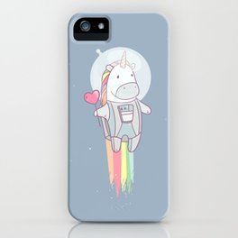 Space Unicorn! iPhone Case