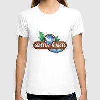 giants T-shirts featuring Gentle Giants by Paul Elder