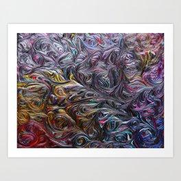 Cosmic Rainbow Art Print