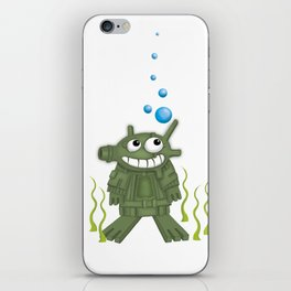 frogmen iPhone Skin
