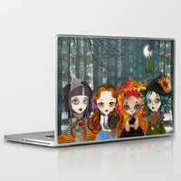 oz Laptop & iPad Skins featuring Oz Girls by Sandra Vargas