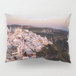Magic Hour in Thira, Santorini Pillow Sham