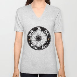 Enjoy the ride Unisex V-Neck
