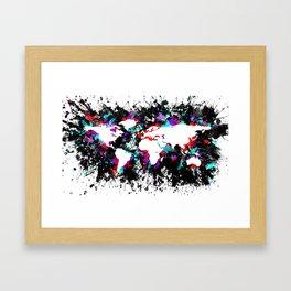 A World Redux Framed Art Print