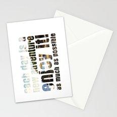 Adventure days Stationery Cards