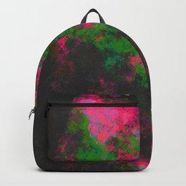 """Cellular Migration"" (Fuchsia/Green) Digital Painting // Fine Art Print Backpack"