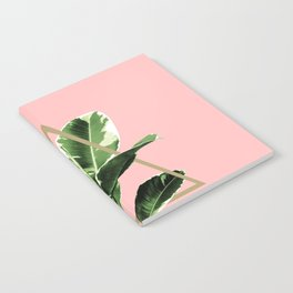 Ficus Elastica Geo Finesse #1 #tropical #foliage #decor #art #society6 Notebook