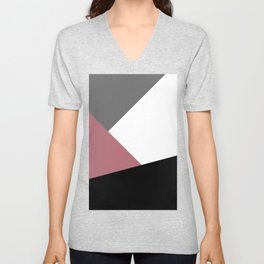 Elegant geometric design Unisex V-Neck