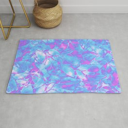 Grunge Art Floral Abstract G171 Rug
