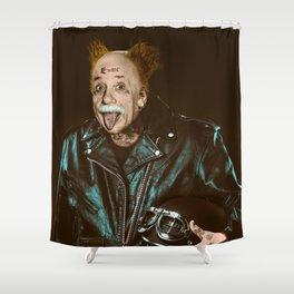 Einstein Rocks Shower Curtain