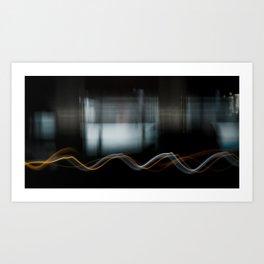Metromotion Art Print