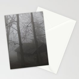 Forest Mist house I Trees I The Forest  Stationery Cards