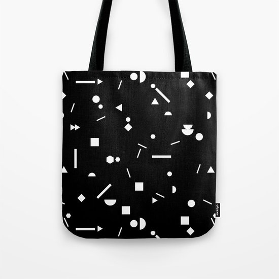 My Favorite Pattern 3 black Tote Bag