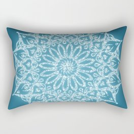 Zen Mandala (Serenity) Rectangular Pillow