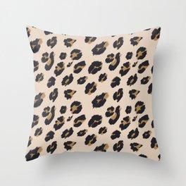 B&B Leopard Design Throw Pillow