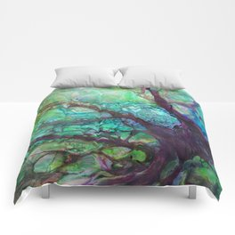 Dreaming Tree in the Evening Comforters