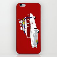 ghostbusters iPhone & iPod Skins featuring Ghostbusters by Martin Lucas