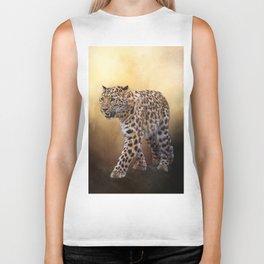 Amur leopard Biker Tank