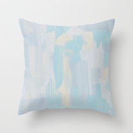 Crystallization № 1 Throw Pillow
