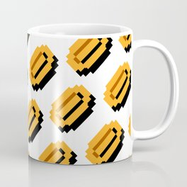 Super Mario Bros. coins pattern Coffee Mug