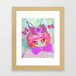 Don't Cry, Ssu Ssu Framed Art Print
