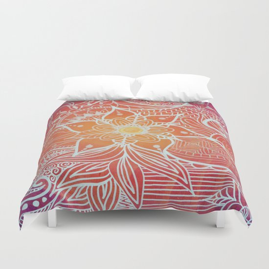 SunTangle Duvet Cover