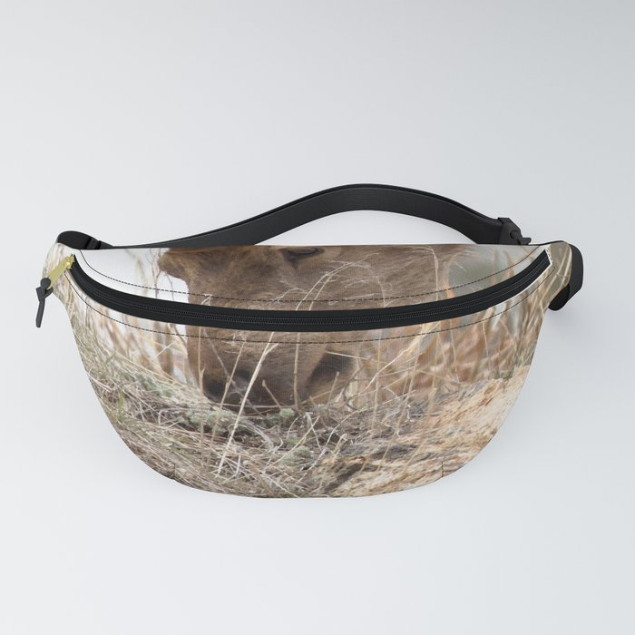 Watercolor Elk Calf Fanny Pack
