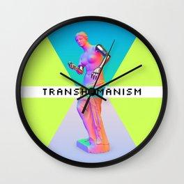 Maquinus Transhumanism ENG Wall Clock