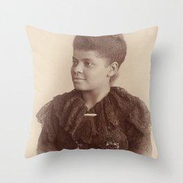 Ida B. Wells 1893 Throw Pillow