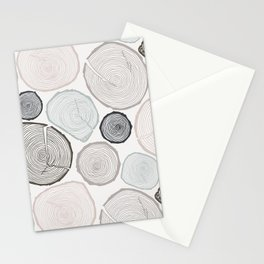 Tree Rings Stationery Cards