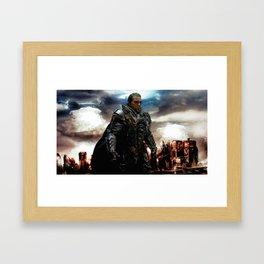 METROPOLIS AFTERMATH Framed Art Print