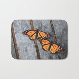 Monarchs two Bath Mat