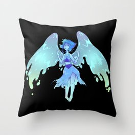 Fled Into The Sea Throw Pillow