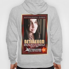 Caitlin Oliver appearance card - King of Arcades World Premiere, Bethlehem PA Hoody