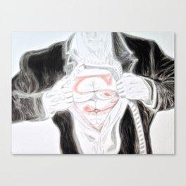 Clark Kent Canvas Print