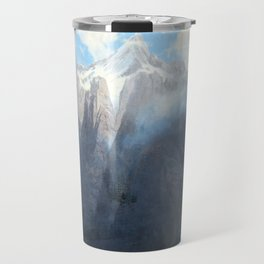 Mount Brewer from King's River Canyon, California Travel Mug