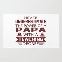 Papa Teacher Rug