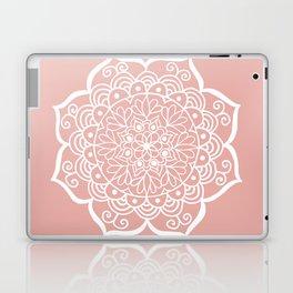 Pretty Mandala on Rose Gold Laptop & iPad Skin