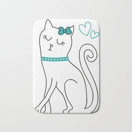 cat sweet Bath Mat