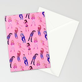 Freaks and Pinks Stationery Cards