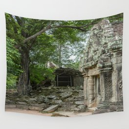 Ta Phrom, Angkor Archaeological Park, Siem Reap, Cambodia Wall Tapestry
