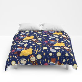 Be Our Guest Pattern Comforters