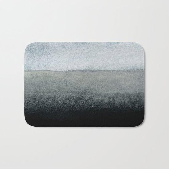 shades of grey Bath Mat