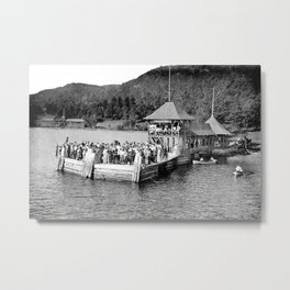 Waiting at Silver Bay (1906) Metal Print